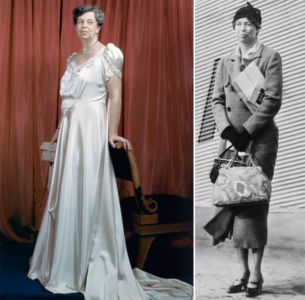 El estilo de Eleanor Roosevelt