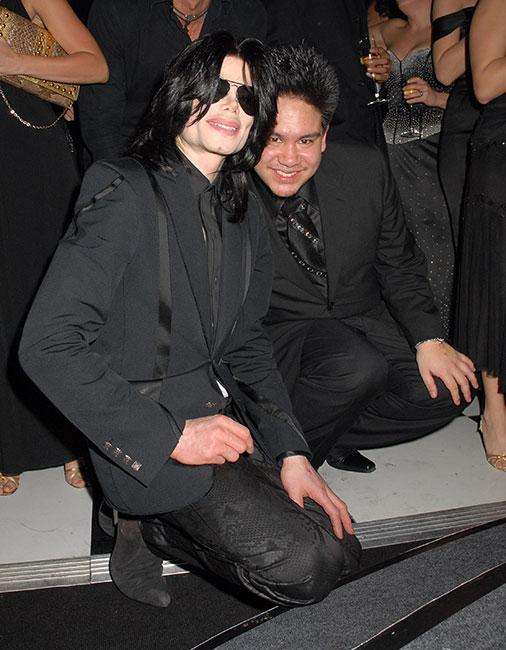 Michael Jackson con Azim