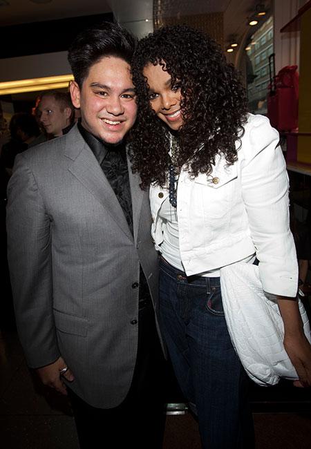 Azim y Janet Jackson