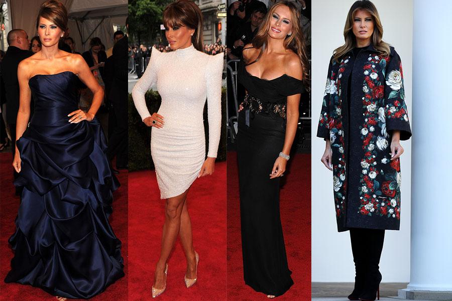 El estilo de Melania Trump