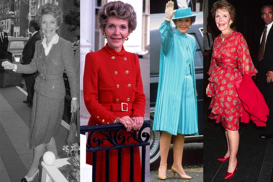 El estilo de Nancy Reagan