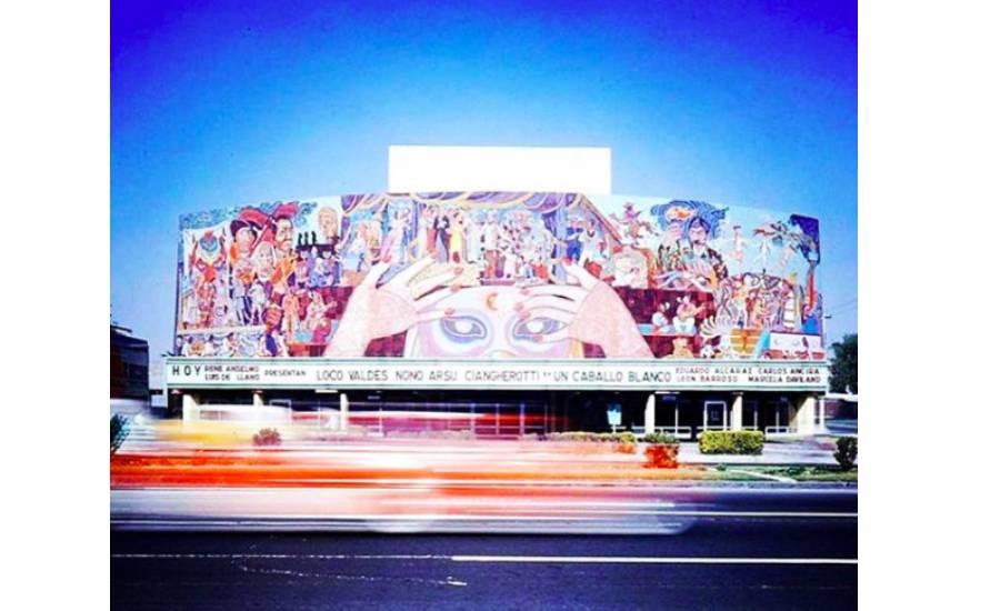 Mural teatro de los insurgentes