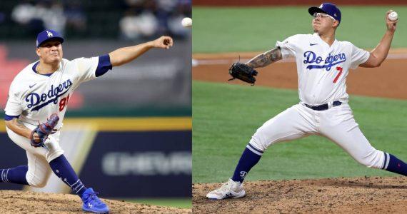 Mexicanos en los Dodgers