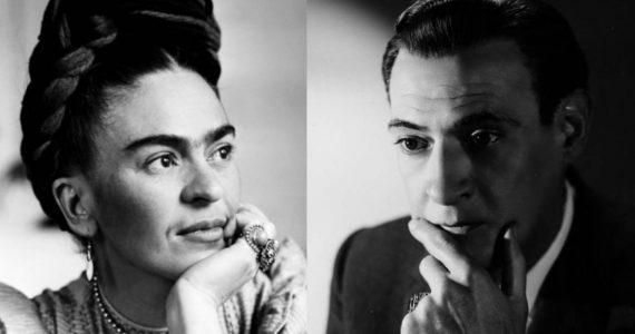 Frida Kahlo y Salvador Novo