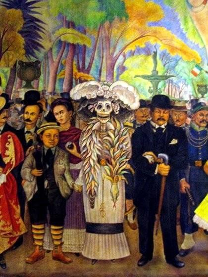 La Catrina Diego Rivera