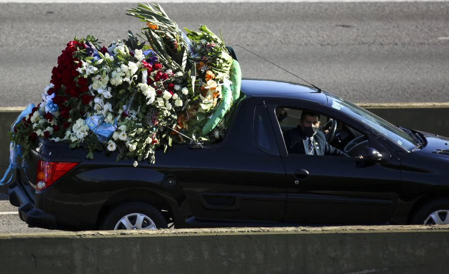funeral Diego Armando Maradona