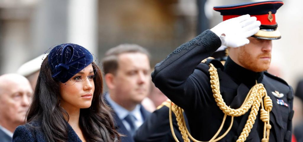 harry y meghan remembrance sunday 2019