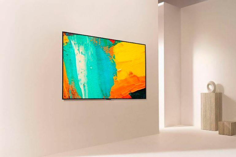 LG OLED Gallery, el televisor para disfrutar del arte