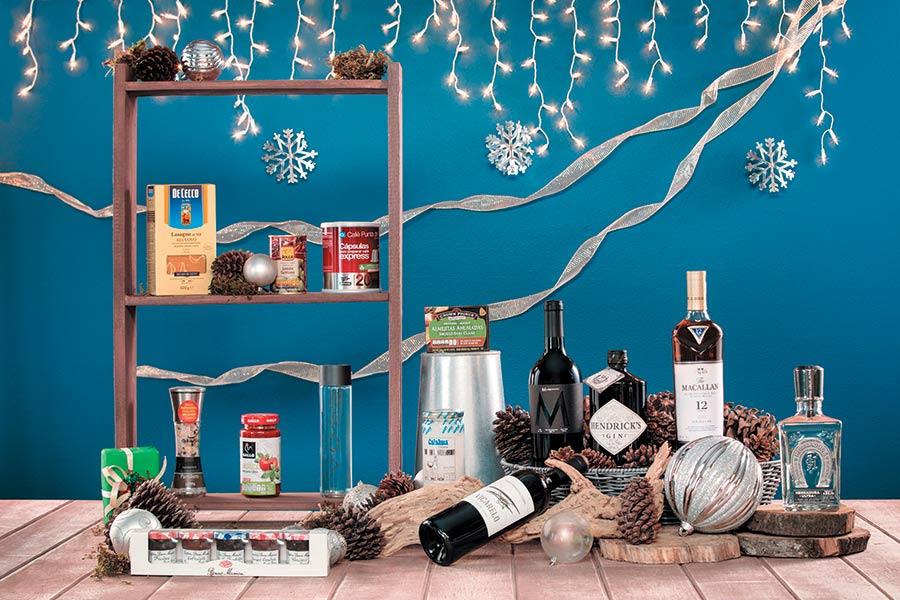 Guía de canastas para regalar esta navidad