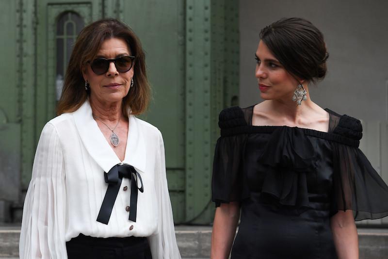 Chanel Carlota Casiraghi Karl Lagerfeld