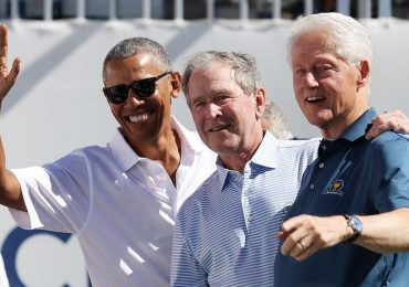 ex presidentes bush clinton obama covid