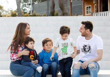 Leo Messi fotografía Navideña