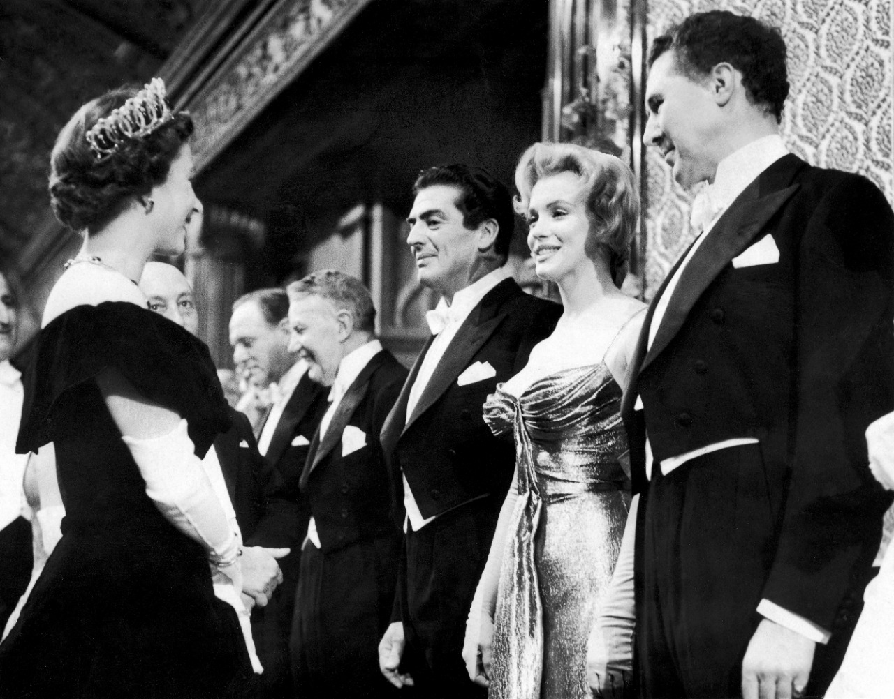 marilyn monroe y la reina isabel