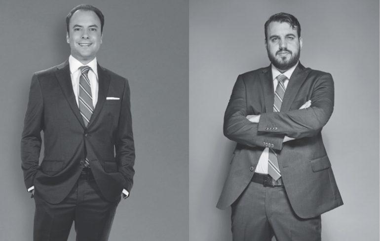 Mikel Aguirre y Alejandro Berry