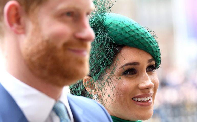 Postal Navideña de Meghan Marlkle y el príncipe Harry