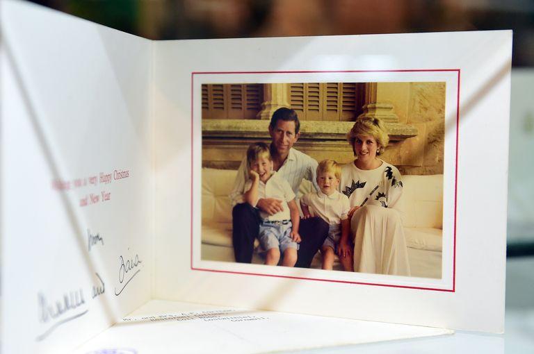 postales navideñas de la familia real