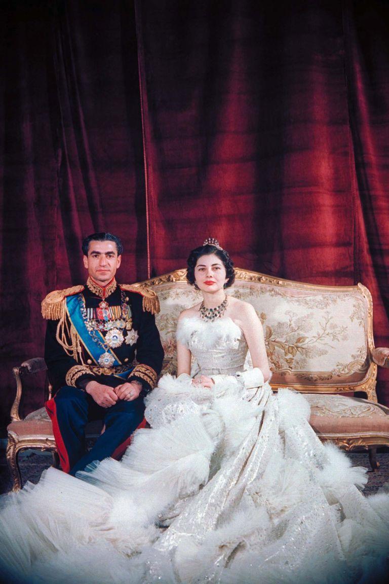 Shah Mohamed Reza Pahlevi and Queen Soraya of Iran