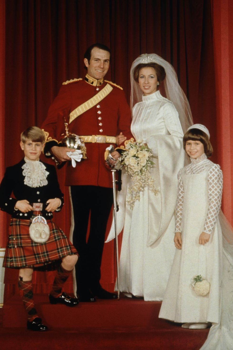 Princess Anne & Mark Phillips