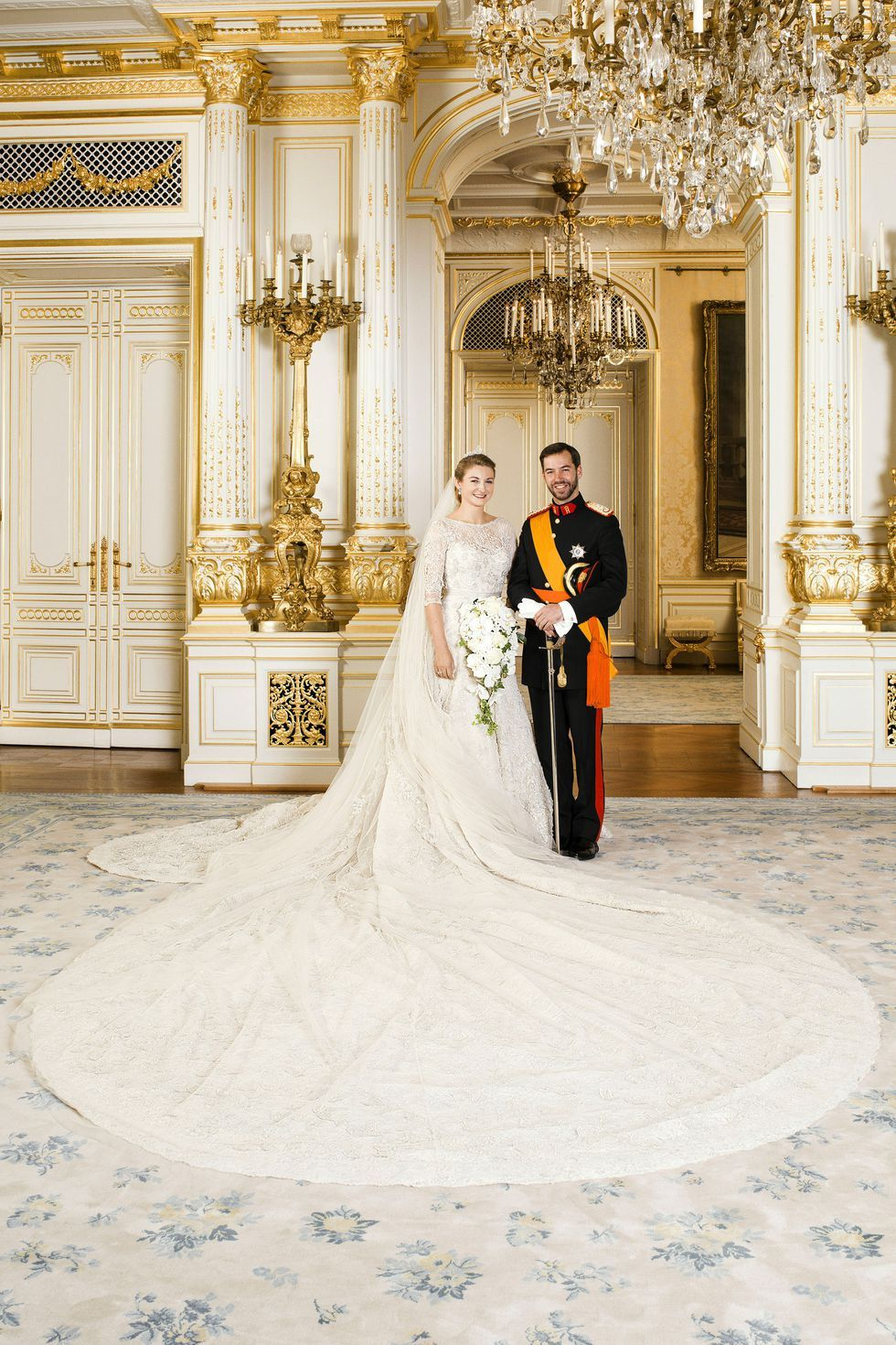 Prince Guillaume & Princess Stéphanie of Luxembourg