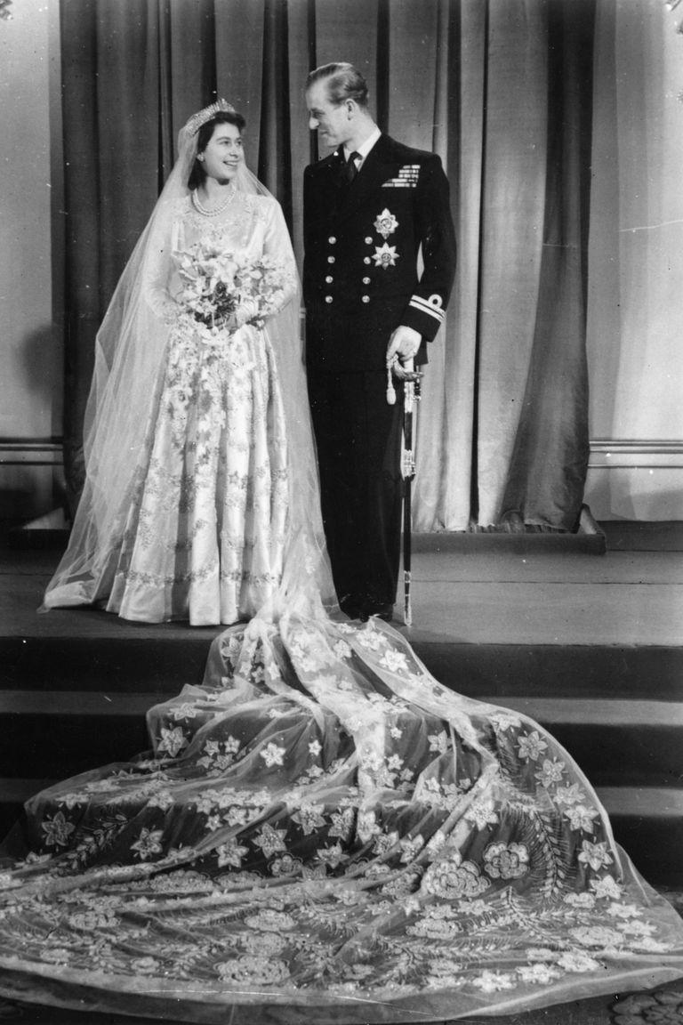 Princess Elizabeth and Prince Mountbatten