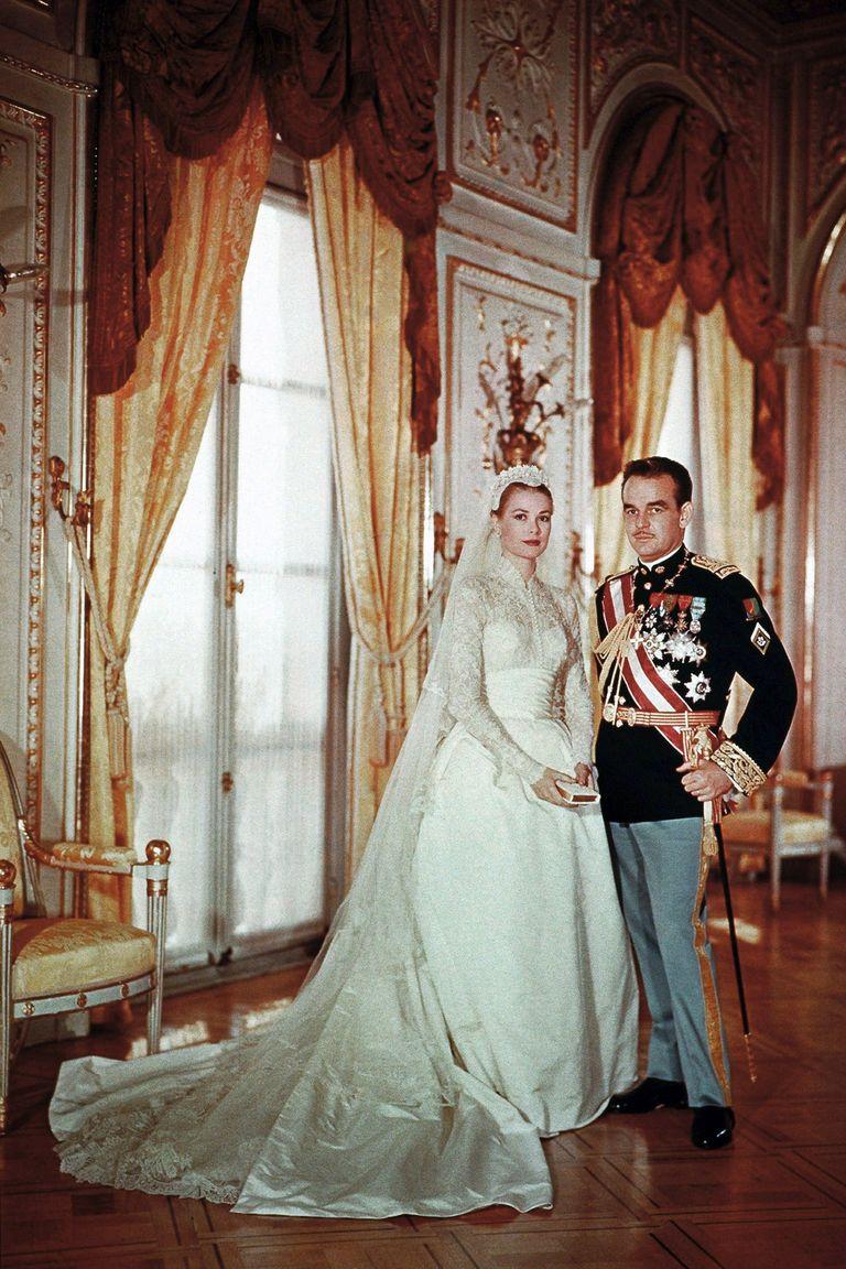 Prince Rainier and Princess Grace Kelly of Monaco