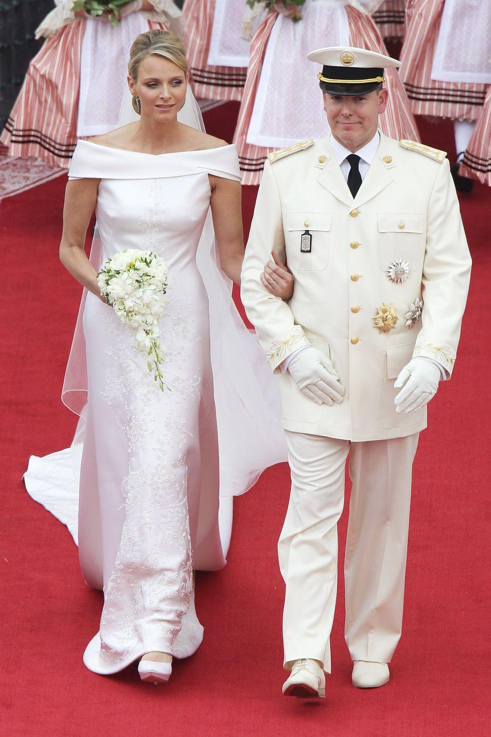 Princess Charlene & Prince Albert II of Monaco