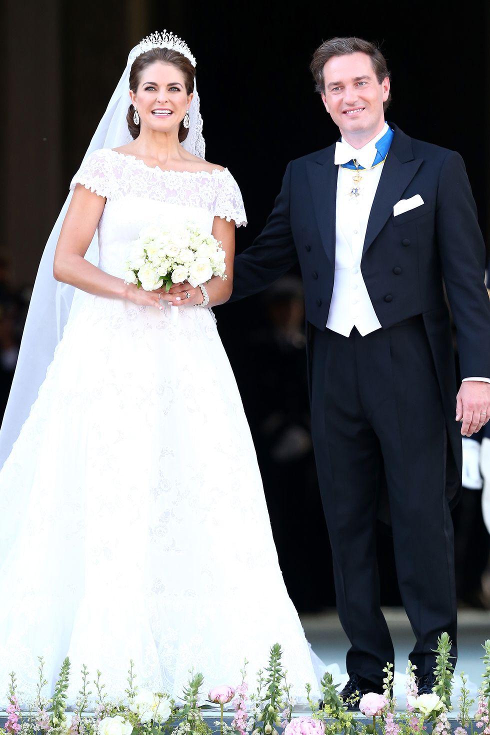 Princess Madeleine & Christopher O'Neill of Sweden