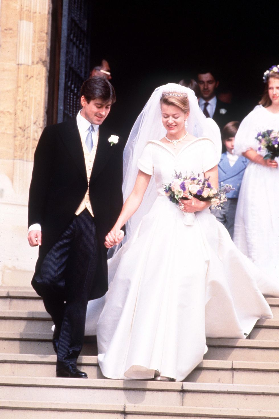 Tim Taylor and Lady Helen of Windsor