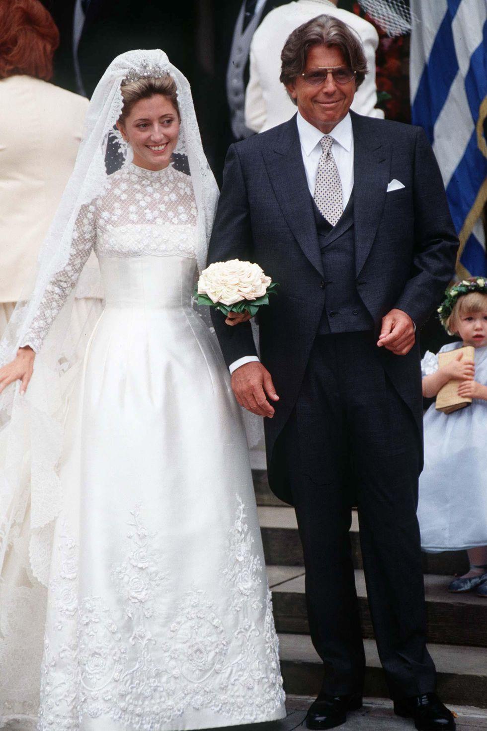 Princess Marie-Chantel of Greece and Her Father Robert Miller