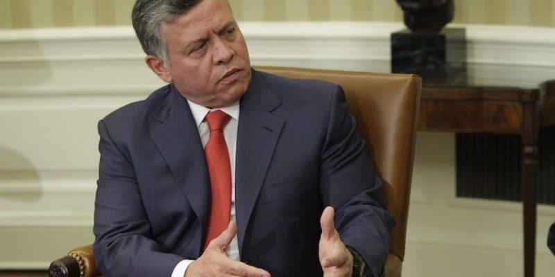 Visitas de la realeza a México Rey de Jordania