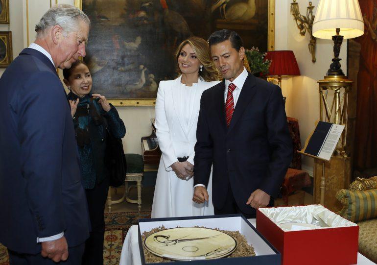 Peña Nieto y príncipe Carlos