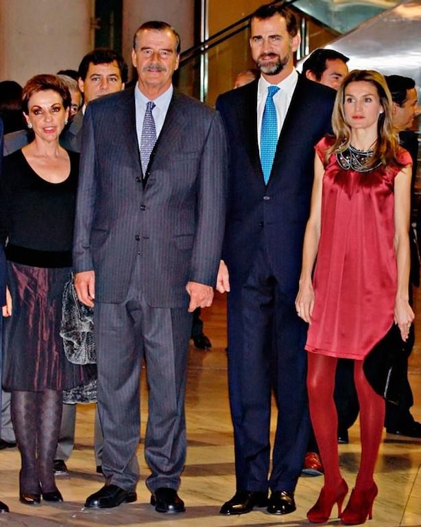 Visitas de la realeza a México Reyes de España