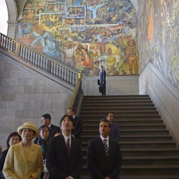 Visitas de la realeza a México Príncipes de Japón