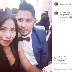Yalitza Aparicio y su novio
