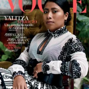 Yalitza Aparicio en la portada de Vogue