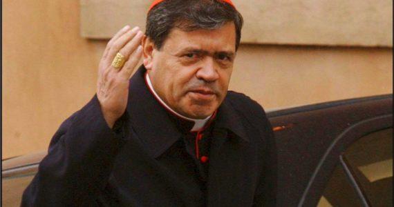Cardenal Norberto Rivera enfermo covid covid19