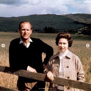 La Reina Isabel II y el Duque de Edimburgo