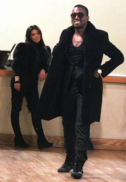 Fotos de Kim Kardashian y Kanye West 2010