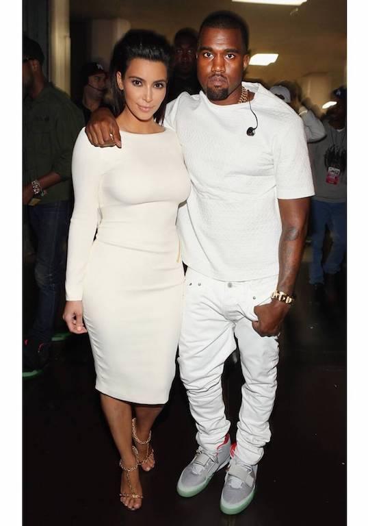 Fotos de Kim Kardashian y Kanye West 2012