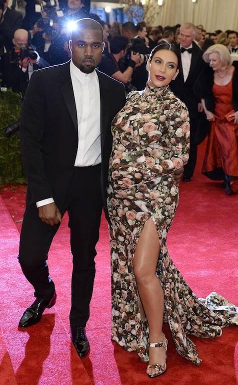 Fotos de Kim Kardashian y Kanye West 2013