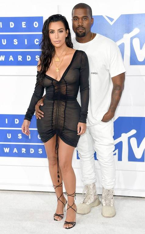 Fotos de Kim Kardashian y Kanye West 2016