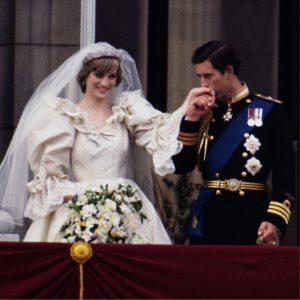 Boda de la Princesa Diana y el Príncipe Carlos