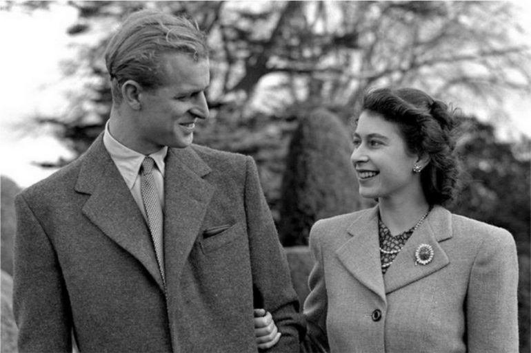 Reina Isabel y Felipe de Edimburgo