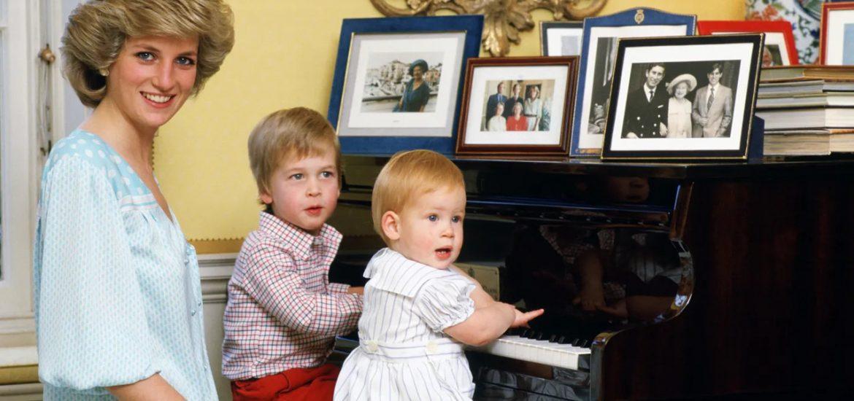 lady di con sus hijos fotos