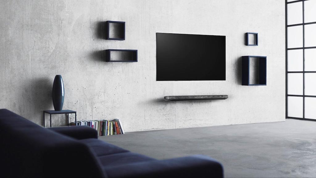 LG OLED Gallery Diseño