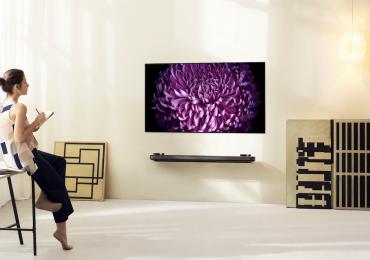 LG OLED Gallery pantalla