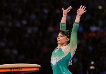 Alexa Moreno atleta mexicana de gimnasia