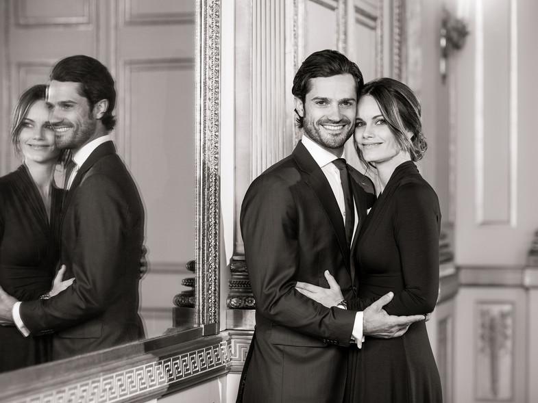 Carlos Felipe y Sofía de Suecia hijo