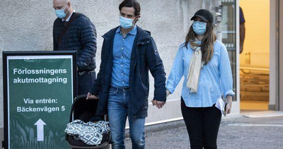Carlos Felipe y Sofía de Suecia hijo nuevo