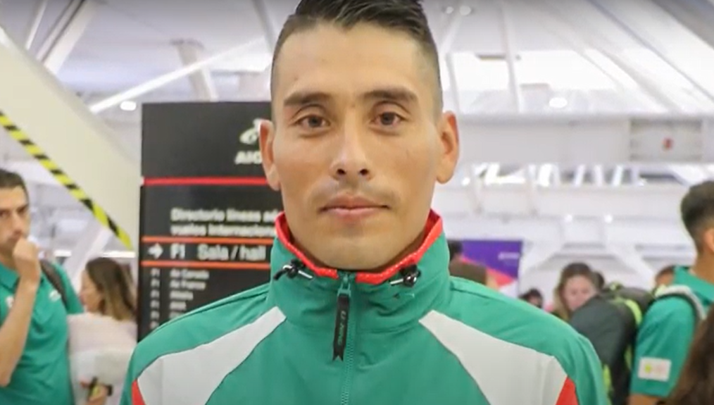 Carlos Sánchez, marchista mexicano en Tokio 2020